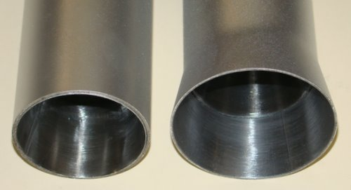 2 tubes with Venturi Inserts